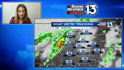 Clouds and rain continue for the Mid-South