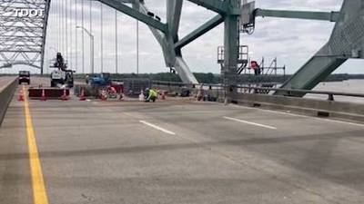 Phase 1 of I-40 bridge repairs complete, TDOT says