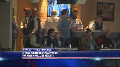 FOX13 Investigates: Local politicians snatching up free Grizzlies tickets