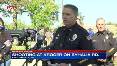 WATCH: Collierville Chief of Police Dale Lane gives update on mass shooting at Kroger