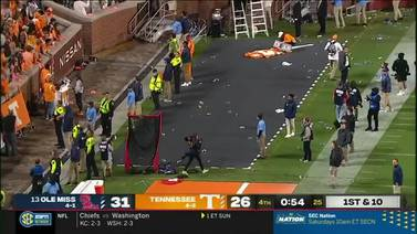 WATCH: 18 people arrested at UT-Ole Miss game