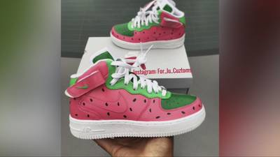 FAMILY FOCUS: Local sneaker artist customizing shoes to your liking