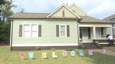 Family of seven comes back to newly renovated home thanks to Mid-South organizations