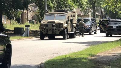PHOTOS: Barricade situation in Northeast Memphis