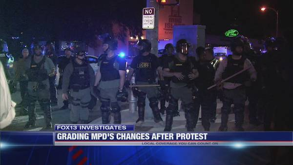 FOX13 Investigates why MPD failed to implement recommendations from presidential task force