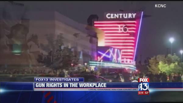 FOX13 Investigates: Gun rights in the workplace