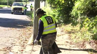 WATCH: Group gathers to clean north Memphis neighborhood, hopes to inspire citywide effort