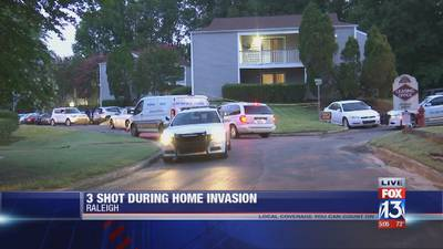 Memphis woman forced into her apartment by robbers before 3 people were shot, police say