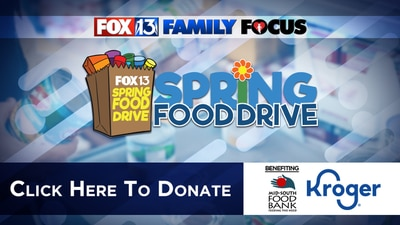 How to donate to FOX13 and Kroger's Spring Food Drive