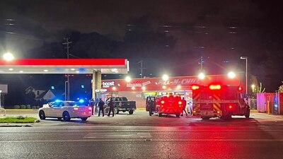 Man and his dog shot near gas station on Lamar, MPD says