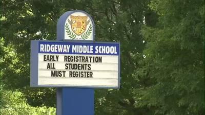 WATCH: Officers clear Ridgeway Middle following threat rumor