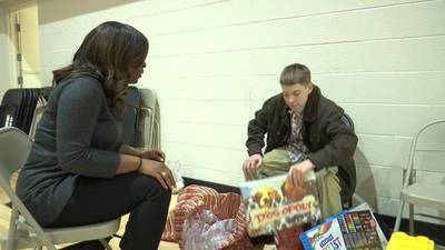 FAMILY FOCUS: Holiday Heroes give gifts to local families at Youth Villages