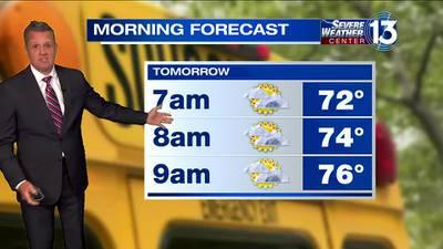 WATCH: FOX13 Monday late night weather forecast