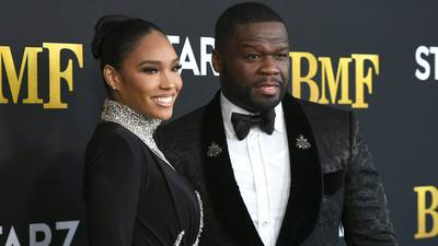 Photos: 50 Cent, other stars walk the 'BMF' premiere red carpet
