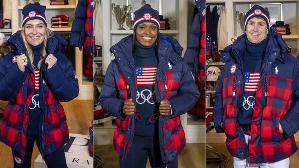 Photos: Team USA Olympic team show off Winter Olympic uniforms