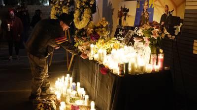 Photos: Halyna Hutchins, cinematographer killed on 'Rust' set, mourned at candlelight vigil