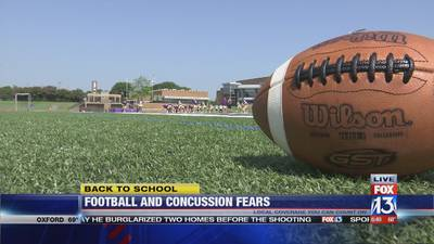 Fewer students play football amid concussion fears, study says