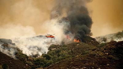 Photos: California wildfires threaten famous giant sequoia trees