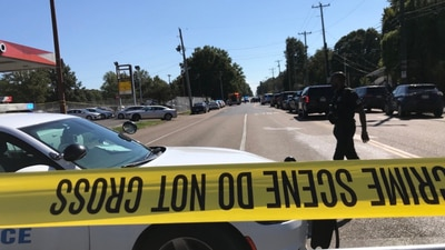 PHOTOS: Deadly shooting at Orange Mound post office