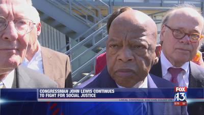 U.S. Congressman John Lewis fights for social justice