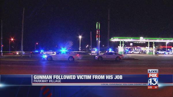 Memphis man shot multiple times after being followed from work, police say