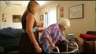 WATCH: Caregiver's arrest shines a light on how common elder abuse is