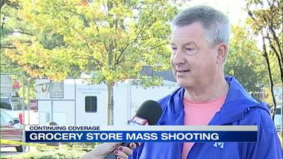 WATCH: Former Kroger employee was shopping and knew where to take people to hide
