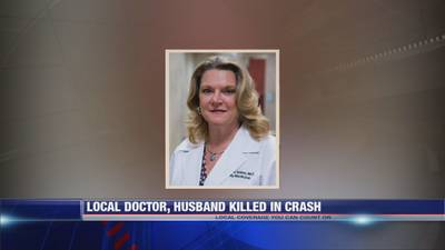 Local doctor, husband killed in cash