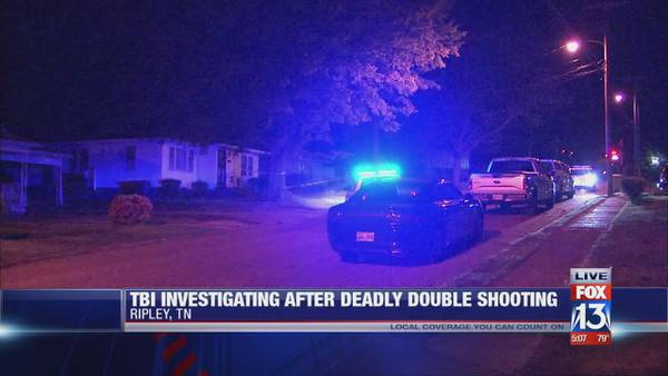 TBI investigating double shooting in Ripley, 1 person dead