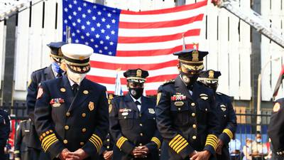 PHOTOS: Memphis first responders pay tribute to 9/11