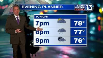 WATCH: FOX13 Friday evening weather forecast
