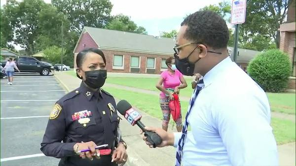 Police Chief CJ Davis addresses rash of youth gun violence in Memphis