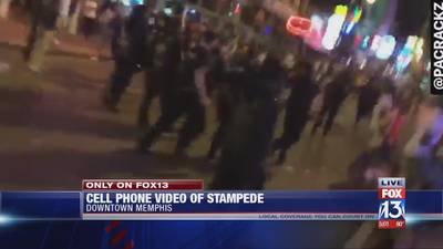 New video shows stampede set off by shooting near Beale Street on final night of BSMF