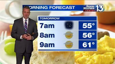 WATCH: FOX13 Tuesday late-night weather update