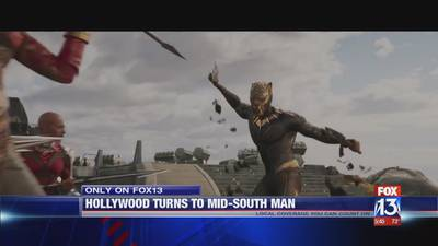 """Mid-South connection to Marvel Studios """"Black Panther"""""""