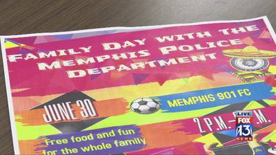 Memphis Police Department hosting family day to connect with Hispanic, Latino community