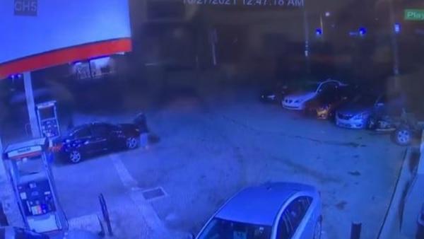 SHOCKING VIDEO: Surveillance footage shows violent triple shooting at Memphis gas station