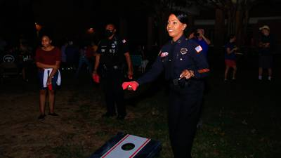 PHOTOS: Local law enforcement interacts with communities on National Night Out
