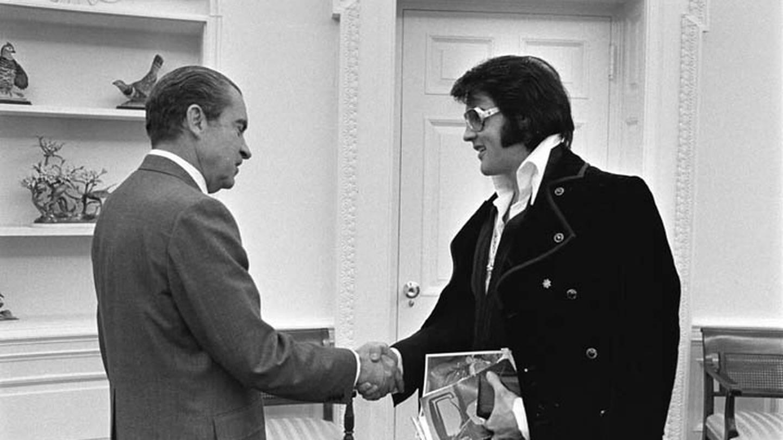 Graceland opens new exhibit on the anniversary of when Elvis met President  Nixon – FOX13 News Memphis