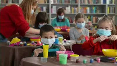 WATCH: About 1 in 9 school age children have contracted COVID-19 since the pandemic began