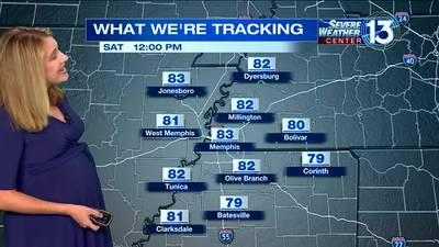 WATCH: FOX13's Saturday morning weather forecast
