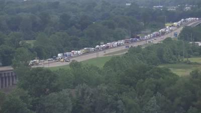 I-40 Bridge detours causing traffic problems in West Memphis