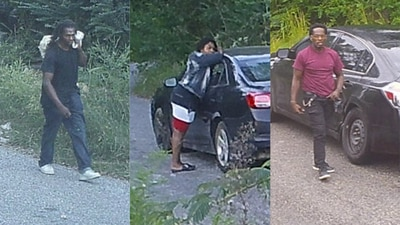 PHOTOS: Suspects wanted for stealing copper wire from Memphis utility poles