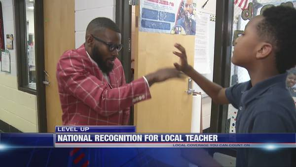 Level Up: Memphis teacher's unique class ritual  featured on Access Hollywood
