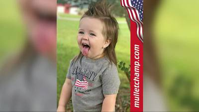 Tennessee toddler in worldwide competition for best mullet
