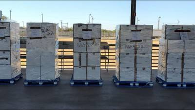 Feds seize more than $24 million in meth at Texas cargo facility