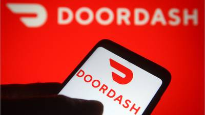 DoorDash to include alcohol option in app for 20 states, DC