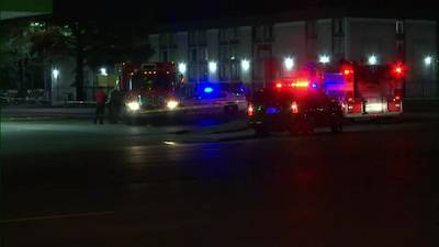 WATCH: Memphis firefighter struck by car at gas station, officials say