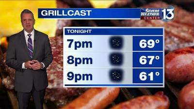 WATCH: FOX13 Tuesday evening weather forecast