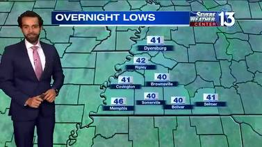 WATCH: Clear skies with chilly temperatures tonight